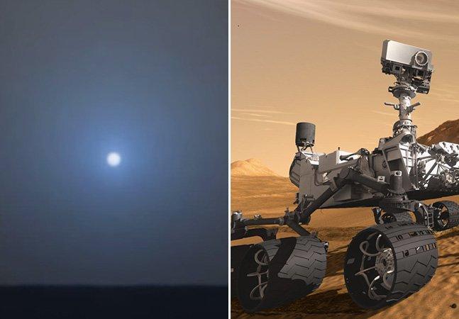 Vídeo incrível da NASA mostra como é o pôr-do-sol em Marte