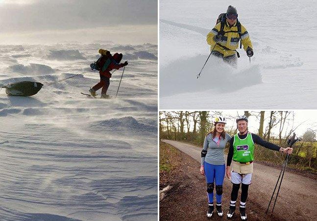 Conheça o viajante que lutou contra três cânceres e acaba de terminar uma aventura no Polo Sul
