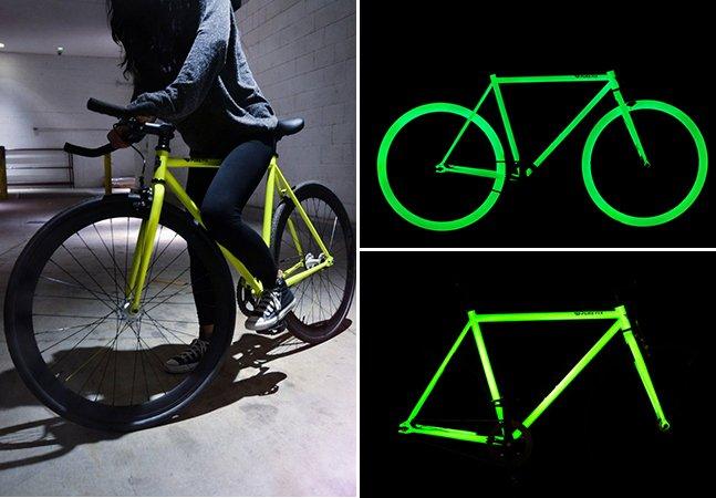 Bike sustentável usa tinta solar para tornar passeios noturnos mais seguros