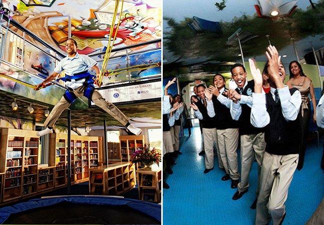 A escola inspirada em Harry Potter onde os alunos não têm vontade de cabular aula