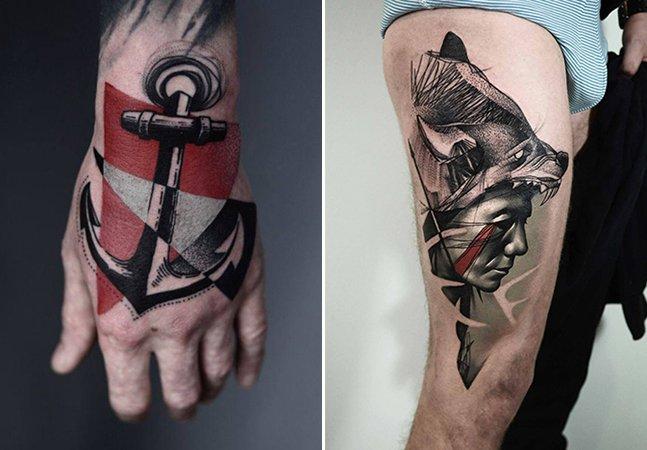 Conheça o estilo único e marcante do tatuador Timur Lysenko