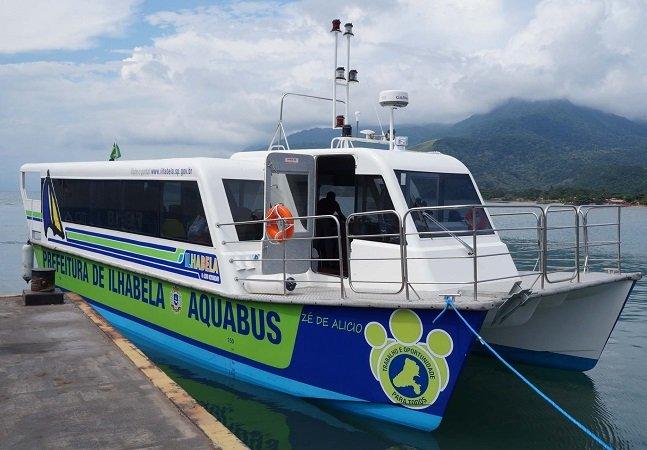 Ilhabela testa transporte público marinho com sucesso