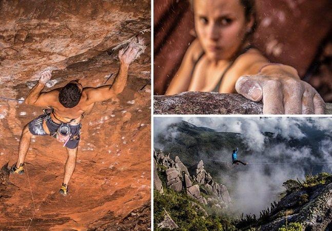 Brasileiro especialista em escalada clica imagens incríveis nas alturas e faz sucesso no Instagram