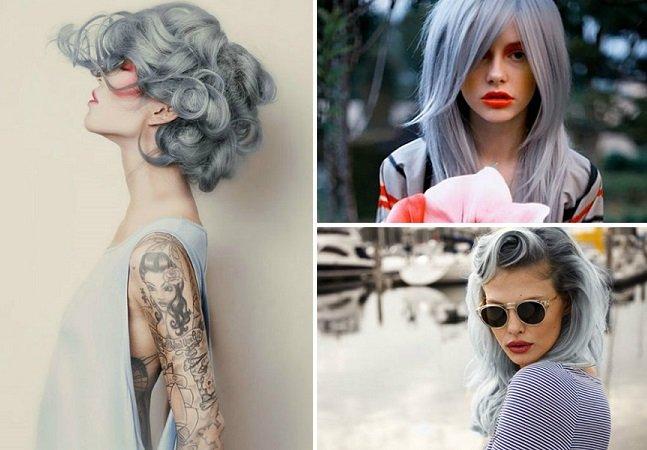 Cabelo cinza: conheça a nova tendência entre as mulheres