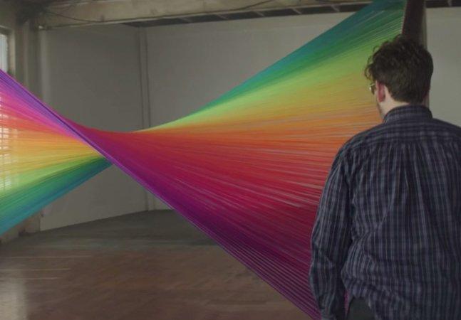 Experimento faz daltônicos enxergarem cores pela primeira vez na vida