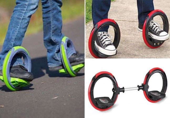 """Empresa desenvolve o """"skate do futuro"""" que usa duas rodas e dispensa tábua"""