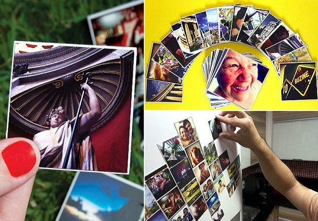 Site permite transformar suas fotos do Instagram em imãs de geladeira