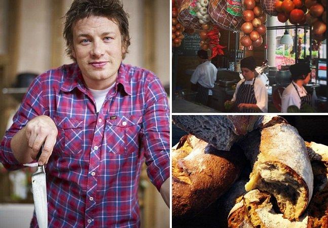 Jamie Oliver inaugura primeiro restaurante no Brasil