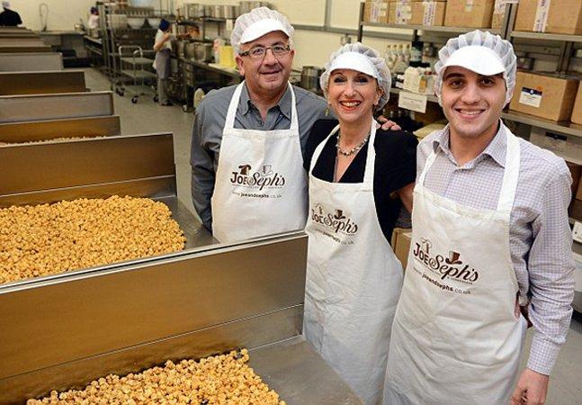 Conheça a família que fatura R$ 8 milhões vendendo pipoca gourmet