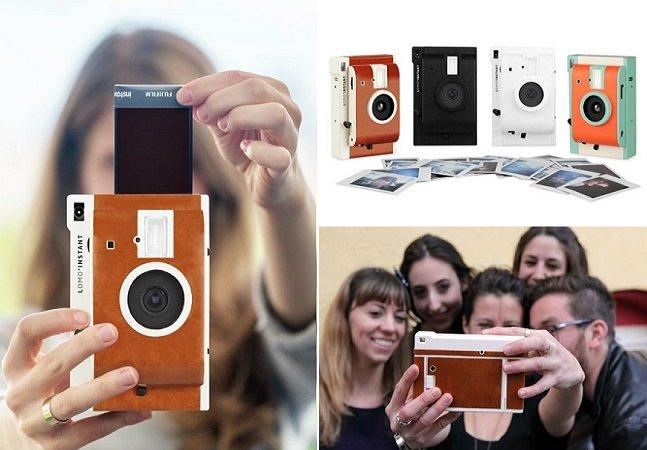 """Câmera imprime fotos na hora com o """"filtro de Instagram"""" que você escolher"""