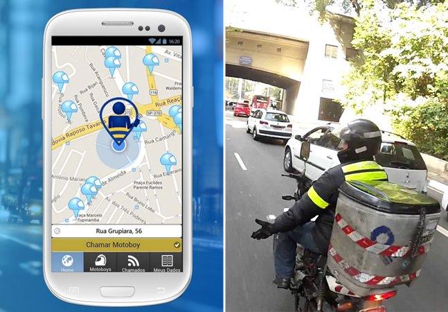 Depois dos taxistas, motoboys ganham aplicativos para agilizar o trabalho