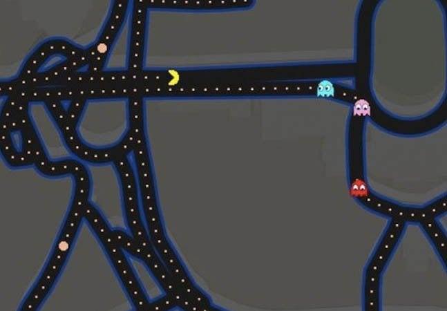 Ação do Google Maps transforma qualquer rota no jogo Pac Man