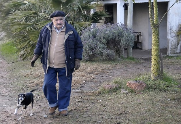 President Jose Mujica and his Wife Lucia Topolansky