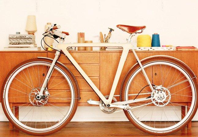 A bicicleta com quadro de madeira mais legal dos últimos tempos