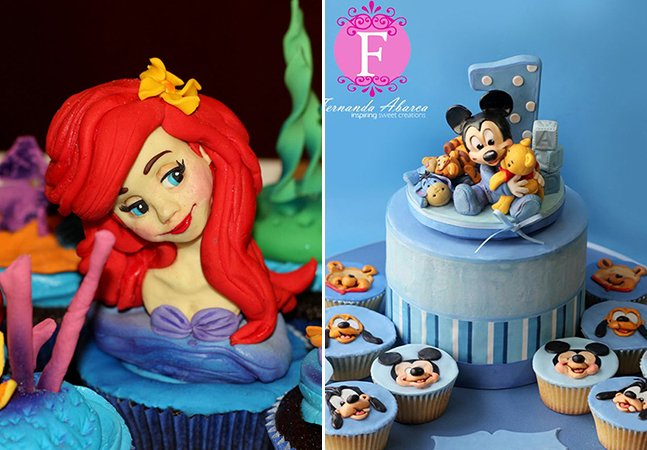 Ilustradora brasileira da DreamWorks cria cupcakes incríveis com personagens famosos
