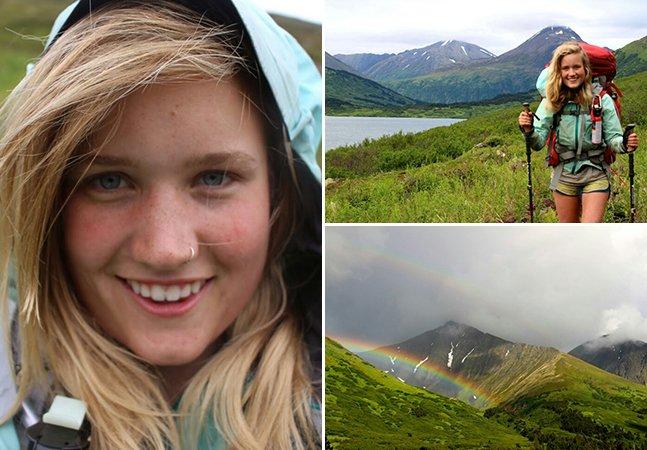 A garota de 19 anos que fez as malas e saiu viajando sozinha pelo Alasca