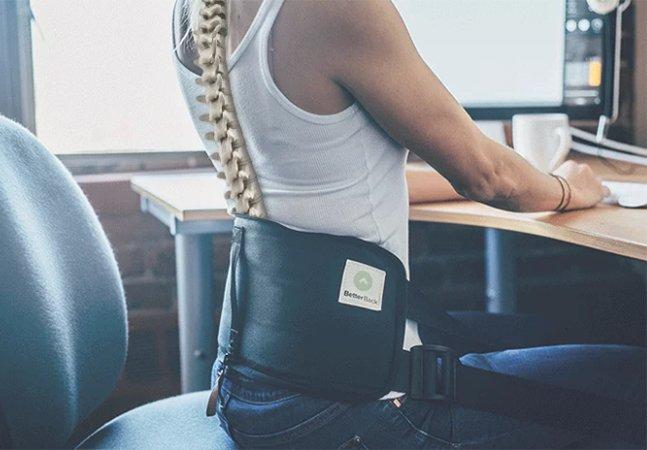 Cinto inovador promete corrigir postura com apenas 15 minutos de uso diário