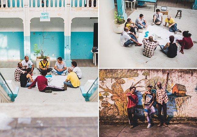 Cobertura Hypeness: acompanhamos um grupo de artistas que estão transformando a cidade de SP pra derrubar barreiras culturais invisíveis