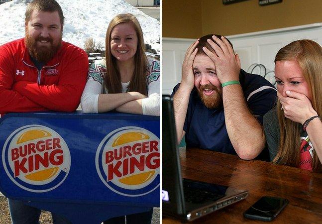 Burger e King: como esse casal conseguiu que uma rede de fast food pagasse o seu casamento