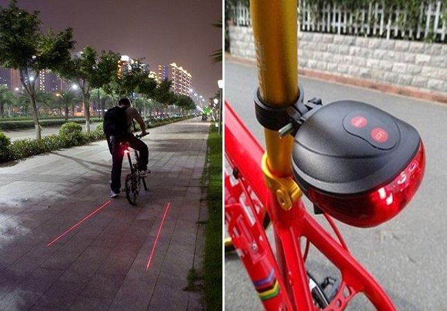 Acessório cria ciclofaixa virtual para aumentar segurança dos ciclistas