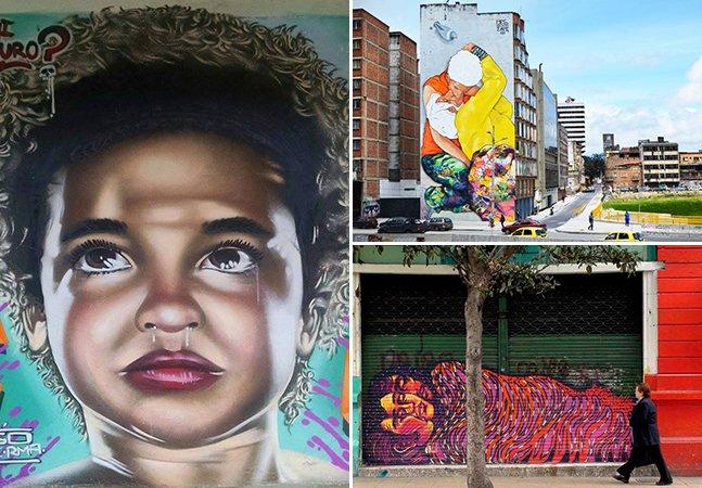 Porque a Colômbia é um dos melhores destinos de viagem para quem curte street art