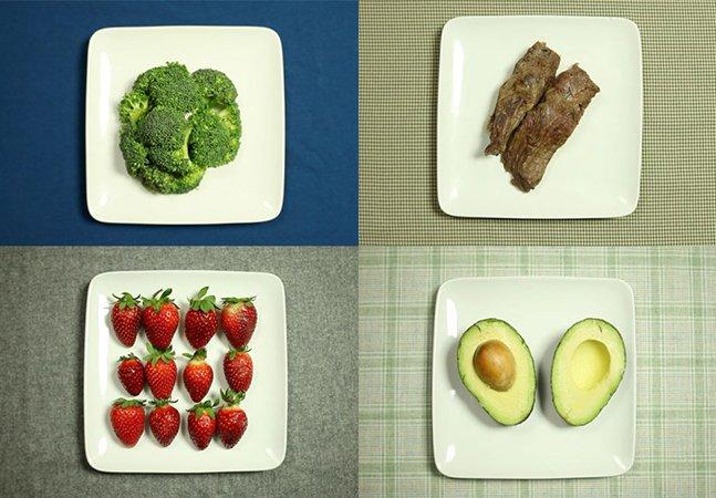 Vídeo mostra a quantidade de água necessária para produzir os alimentos do seu prato