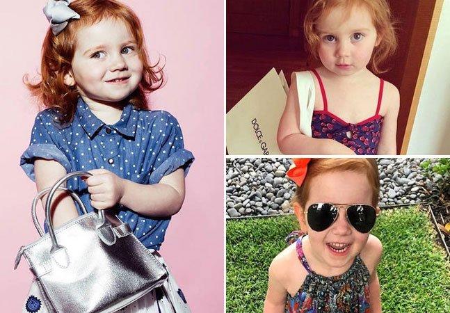 A estilista mais nova do mundo tem apenas 3 anos de idade