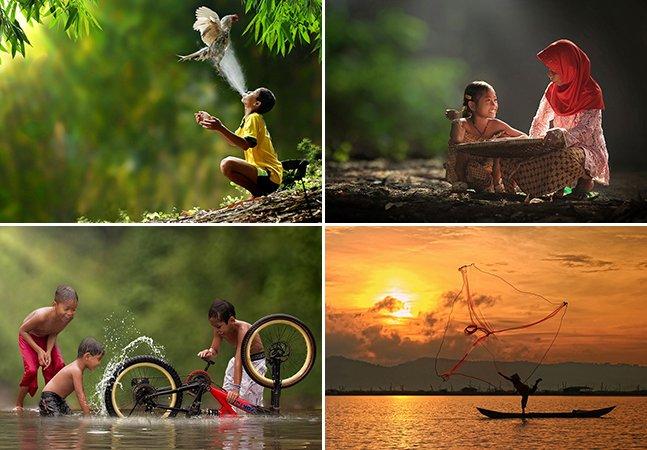 Fotógrafo retrata de forma mágica o cotidiano de vilarejos na Indonésia