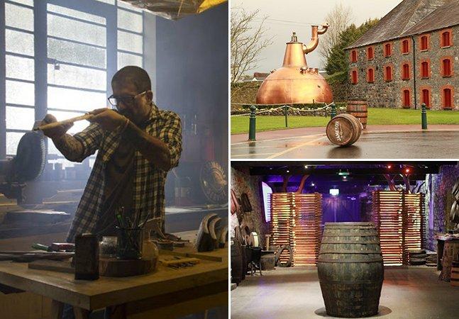 Artistas brasileiros dão nova vida a barril de uma das mais famosas marcas de whiskey do mundo