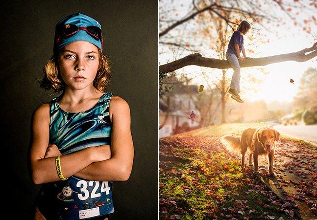 Fotógrafa retrata a força das mulheres usando as filhas como protagonistas