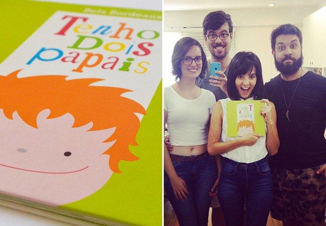 Brasileira cria livro infantil para quebrar o preconceito contra novas formas de família