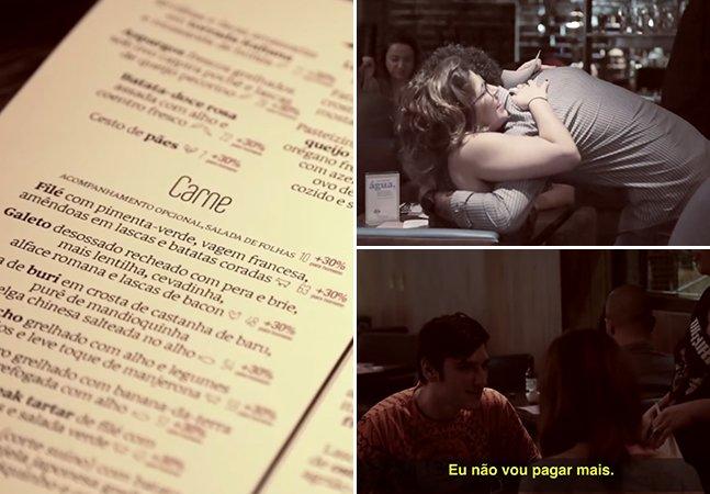 Porque este restaurante em São Paulo decidiu cobrar 30% a mais dos homens