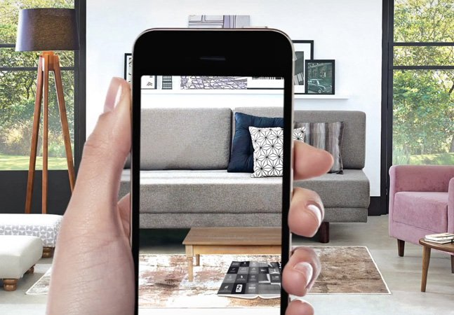 App de realidade aumentada permite ver como ficam os móveis na sua casa antes de fazer a compra