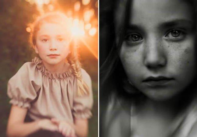 Mãe fotógrafa retrata a beleza da infância em série sensível