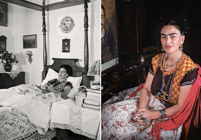 Fotos raras mostram Frida Kahlo em seus últimos dias de vida