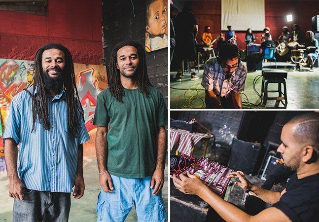 Fomos conhecer os grupos que uniram a música eletrônica e a percussão pra inspirar a transformação de SP