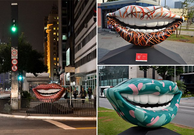 O que são esses sorrisos espalhados por São Paulo? O Hypeness traz a resposta