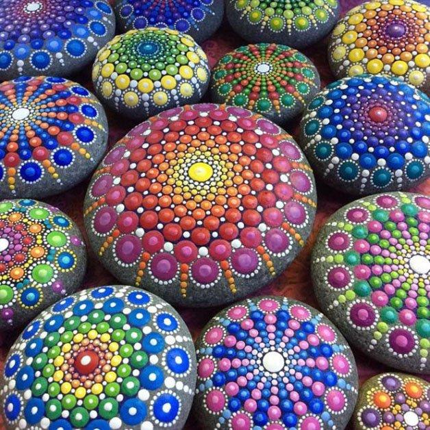 stone-art-mandala