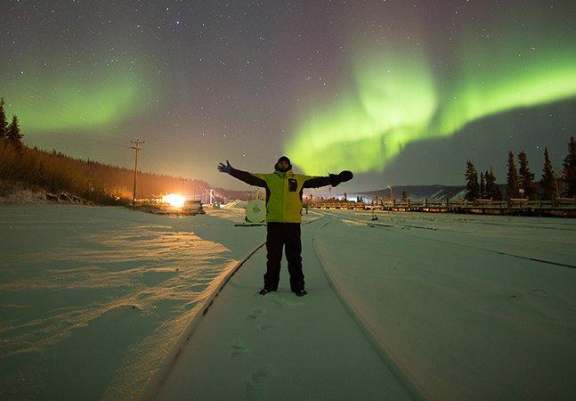 Como a jornada em busca da Aurora Boreal mudou minha vida