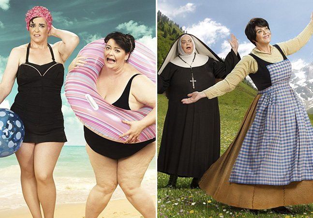 Mulher perde quase 70kg e cria série divertida para comparar o antes e depois