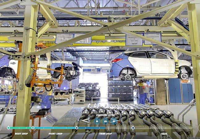 Caoa Hyundai lança tour 360º inovador por dentro de uma montadora e mostra como são feitos os carros