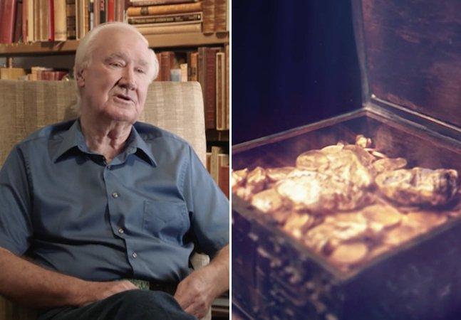 Milionário esconde US$ 2 milhões em ouro na natureza e cria livro com dicas do mapa do tesouro