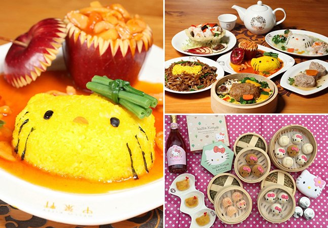 Hong Kong ganha primeiro restaurante com decoração e comida inspiradas na Hello Kitty