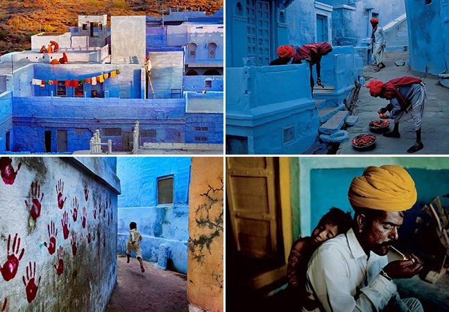 Fotógrafo icônico retrata Jodhpur, a Cidade Azul da Índia
