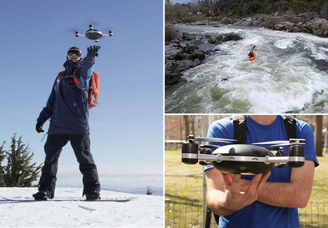 A câmera drone que te segue e promete revolucionar o conceito de fotografia