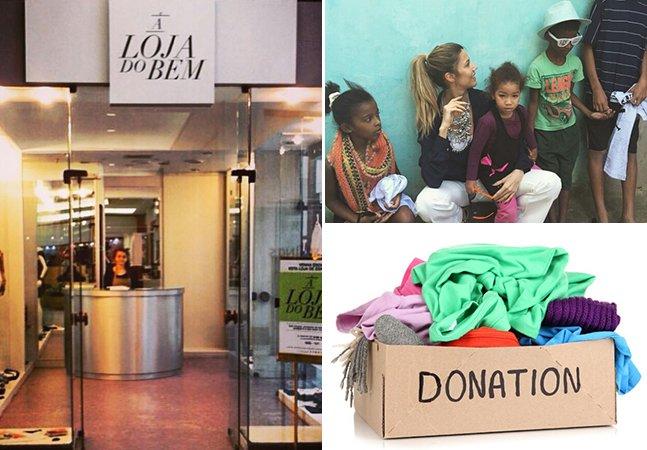 Loja vazia em shopping de SP busca arrecadar produtos para doação