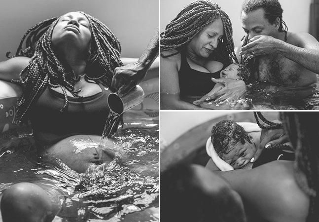 Série fotográfica retrata de forma emocionante as etapas de um parto humanizado no Brasil
