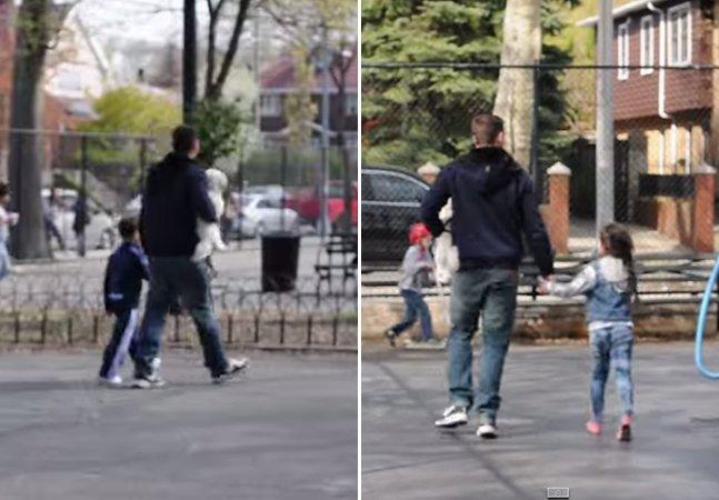 Experimento mostra como é fácil convencer crianças a acompanhar um estranho
