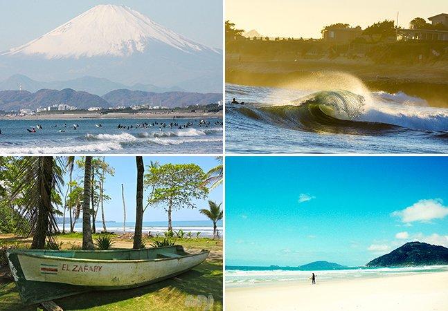 10 destinos imperdíveis pelo mundo para os amantes de surf