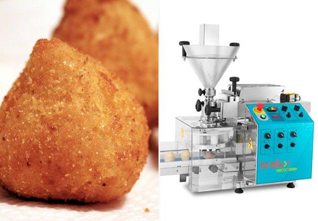 Empreendedor fatura R$ 50 milhões por ano com máquinas de fazer coxinha e outros salgados e doces
